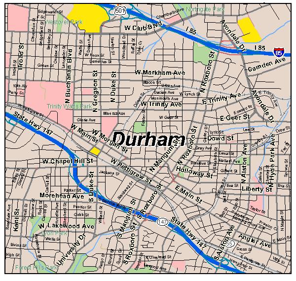durham map