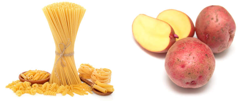 pasta potatoes