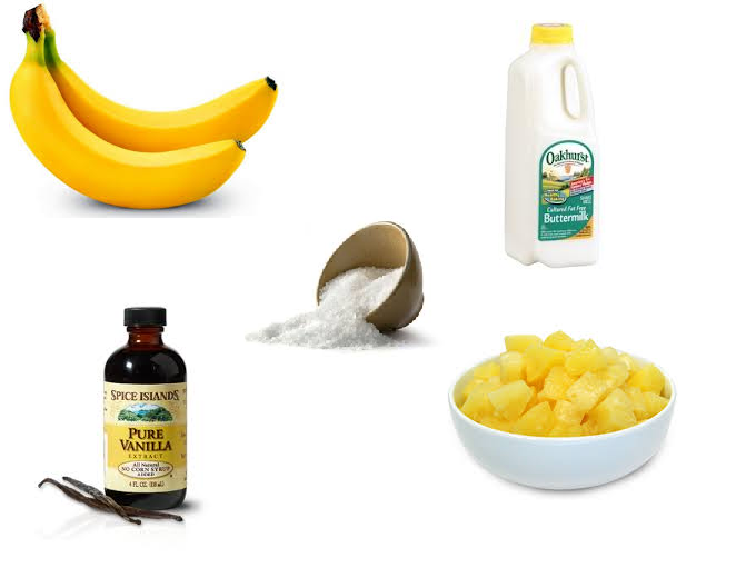banana sorbet