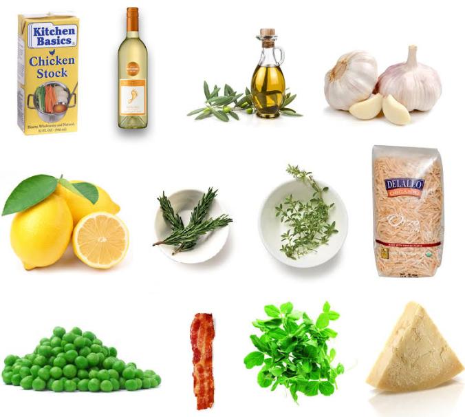 lemon thyme orzo