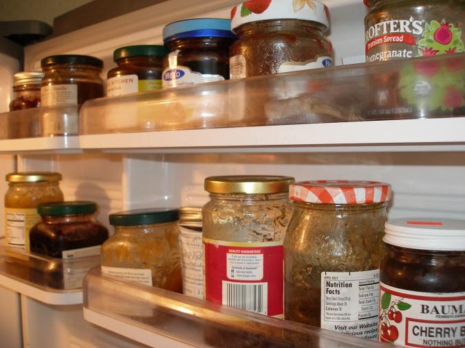 jam shelves