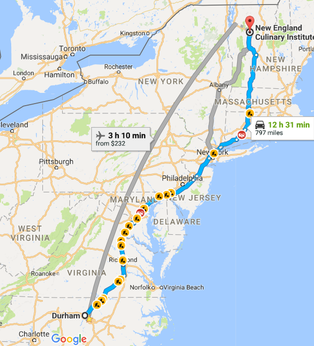 map nc to vt