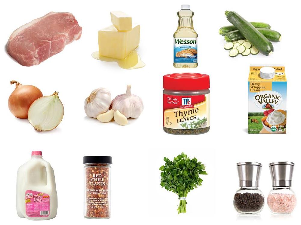 zucchini pork