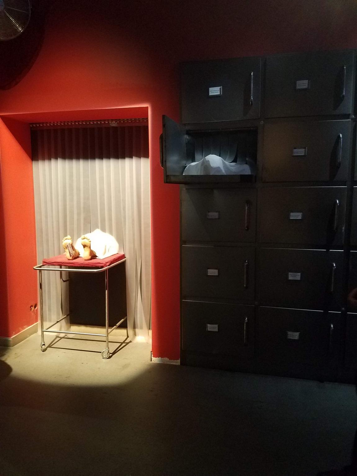 Entrance to Murder Exhibit