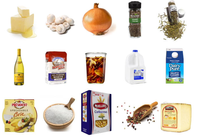 creamy mushrrom bake