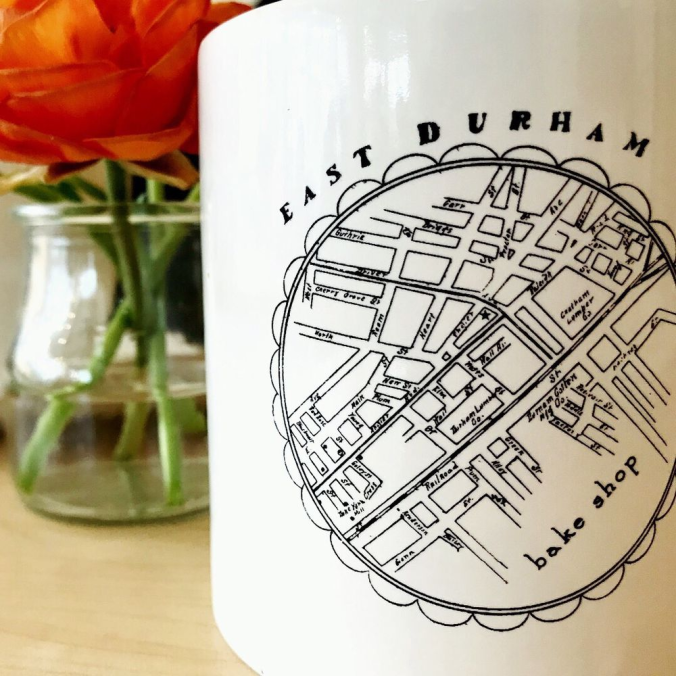 east durham coffee cup