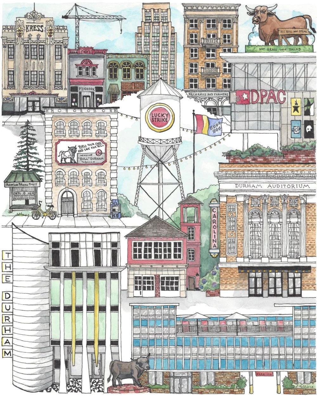 bull city collage