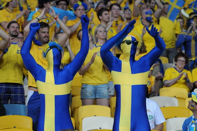 swedish fans