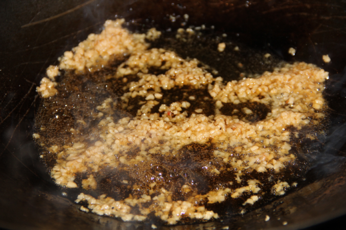 garlic saute