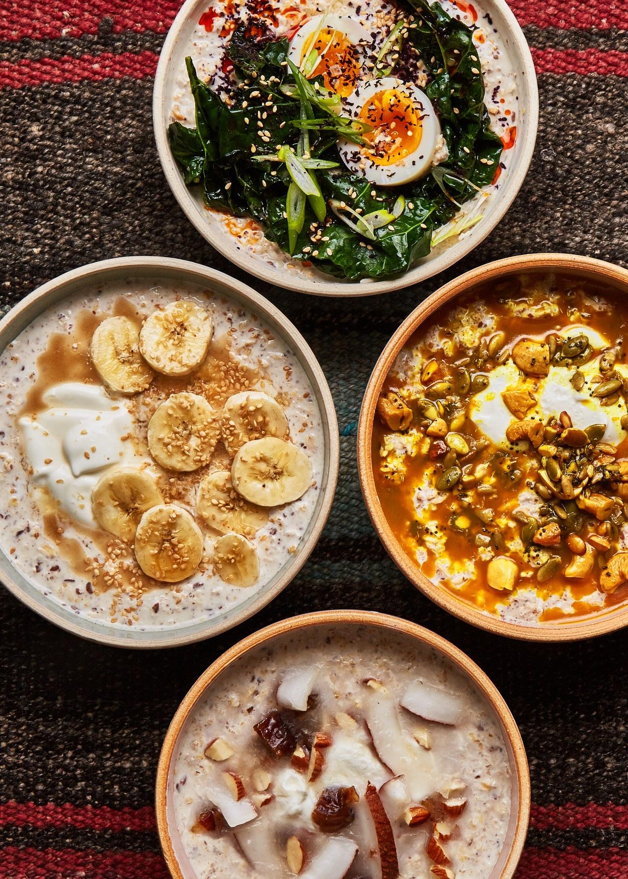 porridge sesame seeds